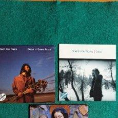 CDs de Música: 3 CD SINGLES TEARS FOR FEARS COLD / BREAK IT / RAQUEL AND THE KINGS SPAIN ENVIO CERTIFICADO GRATIS. Lote 194599067