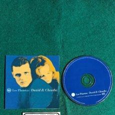 CDs de Música: CD SINGLE CON CUPON LOS PLANETAS DAVID & CLAUDIA 1996 ENVIO CERTIFICADO GRATIS. Lote 194599330