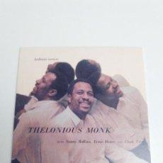 CDs de Música: THELONIOUS MONK BRILLIANT CORNERS ( 1956 DOL 2018 ) REPLICA DEL DISCO ORIGINAL EXCELENTE ESTADO. Lote 194599603
