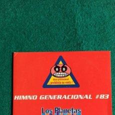 CDs de Música: CD SINGLE LOS PLANETAS HIMNO GENERACIONAL #83 ENVIO CERTIFICADO GRATIS . Lote 194599745