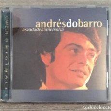 CDs de Música: ANDRÉS DO BARRO - A SAUDADE EN A MEMORIA - . Lote 194612606