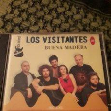 CDs de Música: LOS VISITANTES Y VARIOS ARTISTAS. BUENA MADERA. EDICION RARA. Lote 194616377