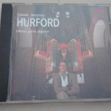 CDs de Música: PETER HURFORD ÓRGANO CD OBRAS PARA ÓRGANO AUTORES DIVERSOS DDD. Lote 194617785