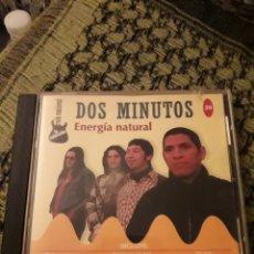 CDs de Música: DOS MINUTOS Y VARIOS ARTISTAS. ENERGÍA NATURAL. EDICION RARA. Lote 194617816