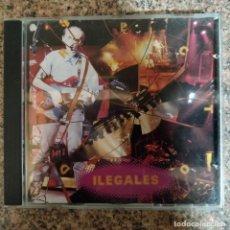 CDs de Música: ILEGALES - DIRECTO EN CD. Lote 194629106