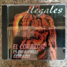 CDs de Música: ILEGALES - EL CORAZON ES UN ANIMAL EXTRAÑO EN CD. Lote 194629488