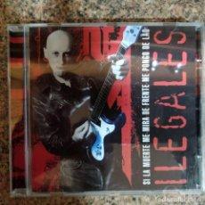 CDs de Música: ILEGALES - SI LA MUERTE ME MIRA DE FRENTE ME PONGO DE LAO EN CD. Lote 194629775