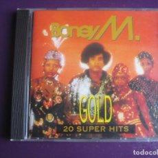 CDs de Música: BONEY M CD BMG 1993 - 20 GRANDES EXITOS DISCO FUNK 70'S - SIN APENAS USO . Lote 194641278