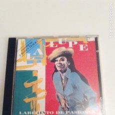 CDs de Música: LA LUPE LABERINTO DE PASIONES ( 1992 MANZANA ). Lote 194642957
