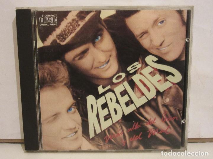 LOS REBELDES - MÁS ALLÁ DEL BIEN Y DEL MAL - CD - 1988 - SPAIN - VG+/VG+ (Música - CD's Rock)