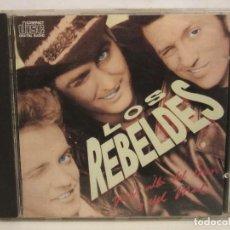 CDs de Música: LOS REBELDES - MÁS ALLÁ DEL BIEN Y DEL MAL - CD - 1988 - SPAIN - VG+/VG+. Lote 194644245