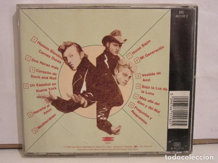 CDs de Música: Los Rebeldes - Más Allá Del Bien Y Del Mal - CD - 1988 - Spain - VG+/VG+ - Foto 2 - 194644245