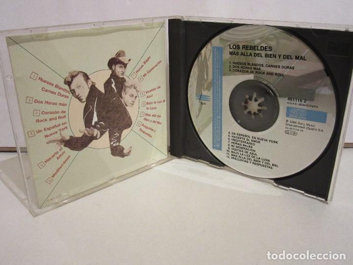 CDs de Música: Los Rebeldes - Más Allá Del Bien Y Del Mal - CD - 1988 - Spain - VG+/VG+ - Foto 3 - 194644245