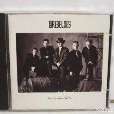 CDs de Música: LOS REBELDES - EN CUERPO Y ALMA - CD - 1990 - SPAIN - G/VG+. Lote 194644593