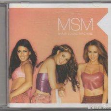 CDs de Música: MSM - MIAMI SOUND MACHINE / CD ALBUM DEL 2002 / MUY BUEN ESTADO RF-4824. Lote 194648801