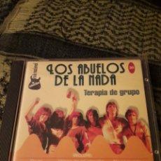 CDs de Música: LOS ABUELOS DE LA NADA Y OTROS ARTISTAS. TERAPIA DE GRUPO. EDICION RARA. Lote 194649012