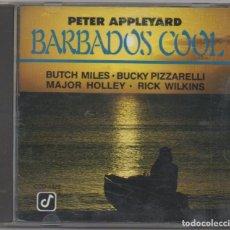 CDs de Música: PETER APPLEYARD - BARBADOS COOL / CD ALBUM DE 1991 / MUY BUEN ESTADO RF-4830. Lote 194649326