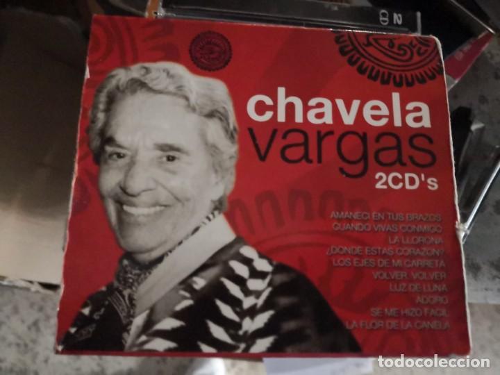 CHAVELA VARGAS (ESTUCHE 2 CD 1995) (Música - CD's Latina)