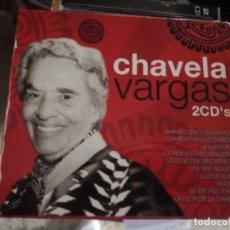CDs de Música: CHAVELA VARGAS (ESTUCHE 2 CD 1995). Lote 194653811