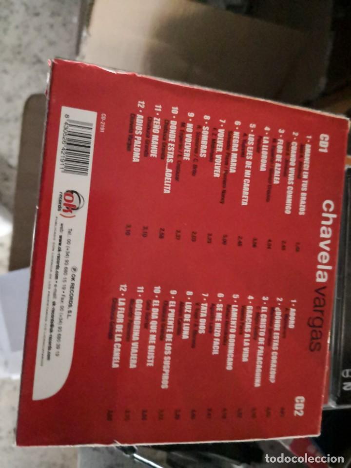 CDs de Música: Chavela Vargas (Estuche 2 CD 1995) - Foto 2 - 194653811