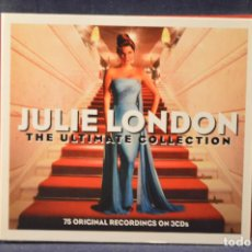 CDs de Música: JULIE LONDON - THE ULTIMATE COLLECTION - 2 CD. Lote 194666068