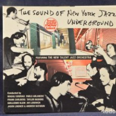 CDs de Música: VARIOUS ARTIST - FEATURING THE NEW TALENT JAZZ ORCHESTRA - 2 CD. Lote 194666535