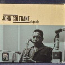 CDs de Música: JOHN COLTRANE - RHAPSODY - 2 CD. Lote 194666670