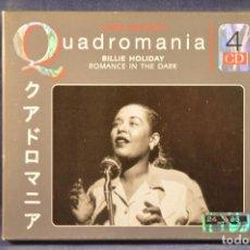 CDs de Música: BILLIE HOLIDAY - QUADROMANIA ROMANCE IN THE DARK - 2 CD . Lote 194666940