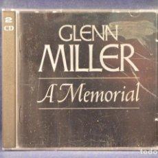 CDs de Música: GLENN MILLER - A MEMORIAL - 2 CD . Lote 194667612
