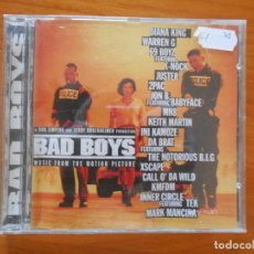 CDs de Música: CD BAD BOYS - MUSIC FROM THE MOTION PICTURE (Ñ8). Lote 194669308