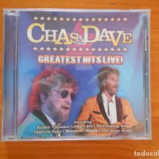 CDs de Música: CD CHAS & DAVE GREATEST HITS LIVE! (2N). Lote 194677160