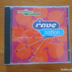 CDs de Música: CD RAVE NATION (2X). Lote 194678585