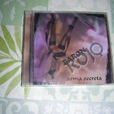 CDs de Música: CD BARON ROJO , ARMA SECRETA , NUEVO Y PRECINTADO. Lote 194687431