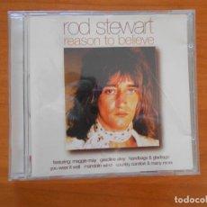 CDs de Música: CD ROD STEWART - REASON TO BELIEVE (5E). Lote 194688385