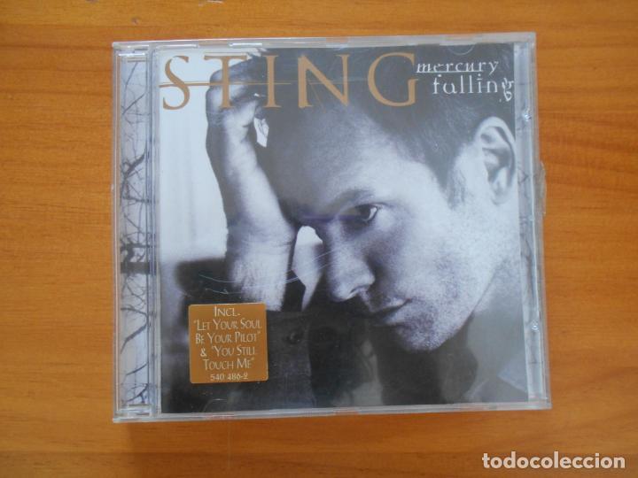 CD STING - MERCURY FALLING - LEER DESCRIPCION (5C) (Música - CD's Pop)