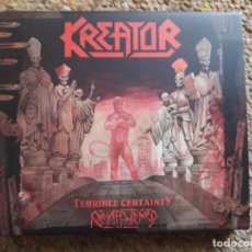 CDs de Música: KREATOR , TERRIBLE CERTAINTY , 2XCD DIGIPACK 2019 ESTADO IMPECABLE ENVIO ECONOMICO . Lote 194688990
