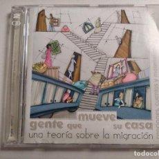 CDs de Música: GENTE QUE MUEVE SU CASA - TEORIA SOBRE MIGRACION:2CD MUSICA,CUENTOS,JAVIER ALVAREZ,PEDRO GUERRA.... Lote 194689212