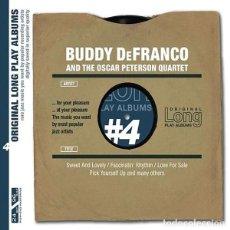 CDs de Música: BUDDY DE FRANCO AND THE OSCAR PETERSON QUARTET. Lote 194700113