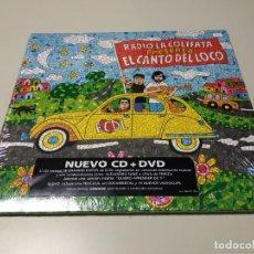 CDs de Música: 0220-RADIO LA COLIFATA & EL CANTO DEL LOCO LP CD + DVD NUEVO PRECINTADO 2009. Lote 194701740