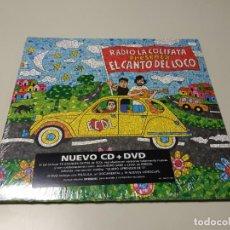 CDs de Música: 0220-RADIO LA COLIFATA & EL CANTO DEL LOCO LP CD + DVD NUEVO PRECINTADO 2009 Nº2. Lote 194701880