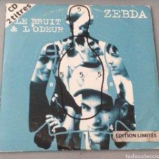 CDs de Música: ZEBDA - LE BRUIT & L'ODEUR. Lote 194705475