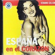 CDs de Música: ESPAÑA EN EL CORAZÓN ¨VERANO CALIENTE¨ (CD). Lote 194708052