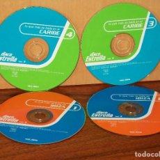 CDs de Música: DISCO ESTRELLA VOLUMEN 3 - CUATRO CDS SOLOS SIN CARATULA . Lote 194719101