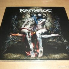 CDs de Música: KAMELOT CD/DVD POETRY FOR .. LTD. EDITION 2010-RHAPSODY-IRON MAIDEN-SABATON (COMPRA MINIMA 15 EUR). Lote 194722173