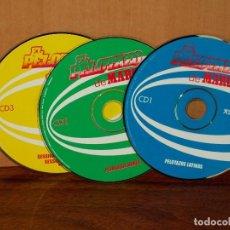 CDs de Música: EL PELOTAZO DE MARCA - SOLO 3 CDS SIN CARATULAS . Lote 194724041