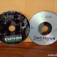 CDs de Música: EMINEM - CURTAIN CALL - SOLO DOBLE CD SIN CARATULAS COMO NUEVOS . Lote 194724452