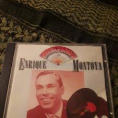 CDs de Música: ENRIQUE MONTOYA. ANTOLOGIA DE LA CANCION ESPAÑOLA. VOL. 26. EDICIONEMI DE 1990. Lote 194724483
