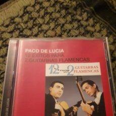 CDs de Música: PACO DE LUCÍA. 12 ÉXITOS PARA 2 GUITARRAS. EDICION DE 2005.. Lote 194726233