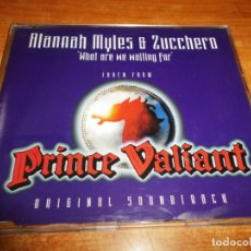 CDs de Música: ALANNAH MYLES & ZUCCHERO WHAT ARE WE WAITING FOR BANDA SONORA PRINCE VALIANT CD SINGLE 1997 HOLANDA . Lote 194726645