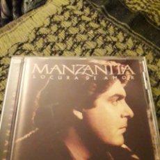 CDs de Música: MANZANITA. LOCURA DE AMOR. EDICION BMG DE 2001.. Lote 194727772